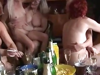Mature and Young Fucking Each Other down a Swinger Party