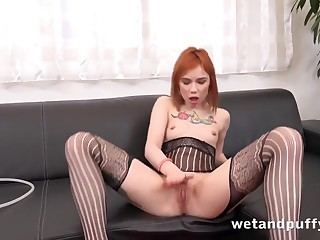 Kira Roller wold Bodystocking Play at Puffy Network - WetAndPuffy