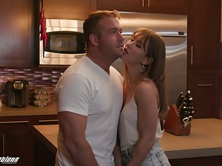 Killing hot babe with hairy muff Paige Owens is sexual intercourse with her go steady with
