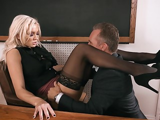 Block b stop enjoys fucking anal chasm of smoking hot teacher Kenzie Taylor