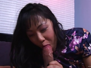 Hairy pussy asian gets her pussy fucked plus anal penetrated in the club