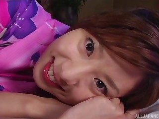Homemade fasten up video with sexy wife Aki Katase having sexual intercourse